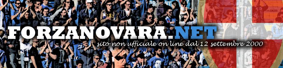 Il muro dei tifosi del Novara